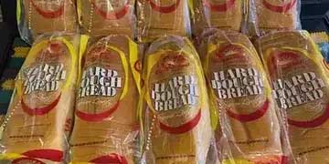 Golden Krust Hard Dough Bread.